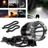 Review 3000 Lumen Cree Xm L T6 Ssc Led 3Mode Bike Bicycle Front Head Light Lamp Torch Intl