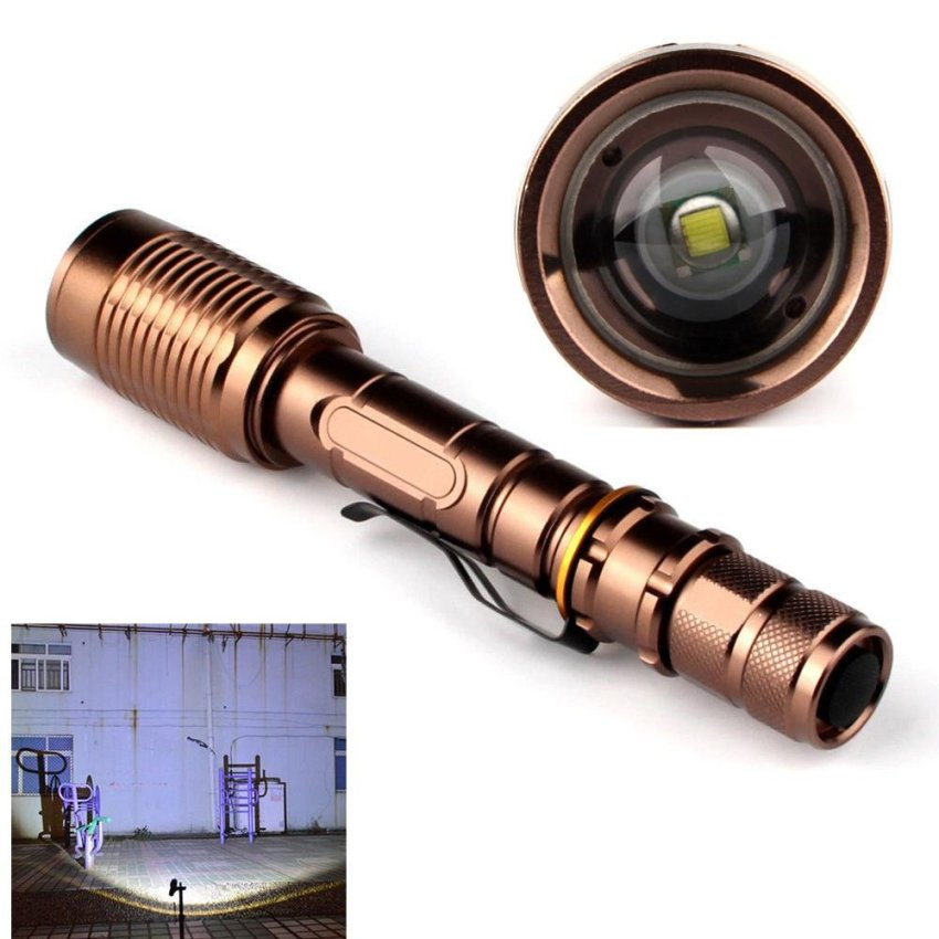 Daftar Harga 3000 Lumen Zoomable Cree Xml T6 Led 18650 Senter Lampu Obor Adjustable 18650 Intl Skywolfeye