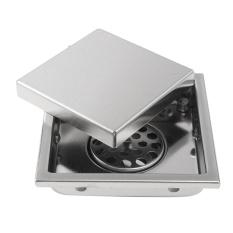 304 Stainless Steel Invisible Bathroom Floor Drain Grate Wetroom Shower Drainer-Intl