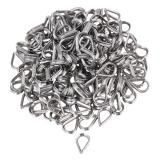 Obral 304 Stainless Steel M2 Kawat Kabel Thimble Galvanized Set 200 Silver Intl Murah
