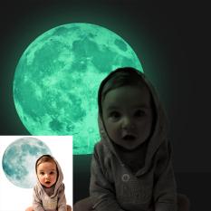 30Cm Large Luminous Moon Glow In The Dark Wall Stickers Moonlight Decoration Oem Diskon 40