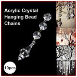 Jual 30 Pcs Acrylic Crystal Garland Prisma Hanging Bead Pernikahan Dekorasi Pesta Xcsource Murah
