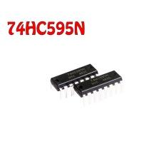 Beli 30 Pcs Sn74Hc595N 74Hc595N 74Hc595 Dip 16 Original Ti Intl Terbaru
