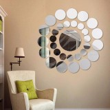 Jual 31X Round Mirror Wall Sticker Acrylic Surface Decal Home Room Diy Art Decor Sl Intl Oem Murah