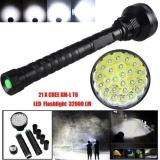 Beli 32000Lm 24X Xml T6 Led Flashlight 5 Modes Torch 26650 18650 Campinglamp Light Intl Pake Kartu Kredit