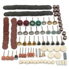 Promo 347 Pcs Set Rotary Alat Aksesori Cocok Untuk Dremel Grindng Sanding Polishing Kit Intl