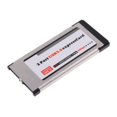 34mm Express Card ExpressCard ke 2 Port USB 3.0 USB untuk Laptop   NEC Chip-Intl