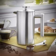 Harga 350 Ml Double Wall Coffee Tekan Maker Cafetiere Teh Pot Plunger Filter Mug Baru Intl Murah