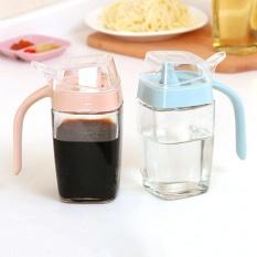 350 Ml Kaca Jug Leakproof Oil Tank Vinegar Pot Kecap Botol Minyak Cuka Botol Minyak Wijen Botol Kebutuhan Dapur -Intl