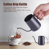 Jual 350 Ml Stainless Steel Tuangkan Hand Coffee Drip Pot Long Gooseneck Moncong Ketel Hitam Intl Oem Original