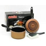 Harga 354 Maxim Wajan Venice Set Teflon Paling Murah