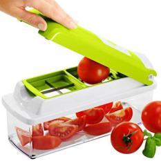 Harga 354 Pemotong Sayuran Multifungsi Green Asli 354