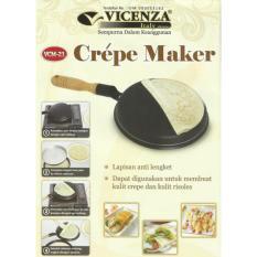 354  Vicenza Crepe Maker - Wajan Terbalik Pembuat Crepe Dan Dadar