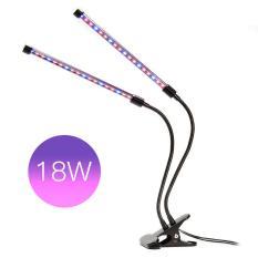 36 LED Grow Light Profession Plant Lamp untuk Tanaman Indoor 18 W Adjustable 2 Level Dimmable Clip Desk Lamp dengan ° Flexible Gooseneck untuk Kantor, Rumah, Rumah Kaca Indoor Organizer Organik