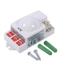 360?? 500 W Microwave Radar Smart Sensor Gerak Saklar Lampu CeilingRecessed Dinding Garasi Control-Intl