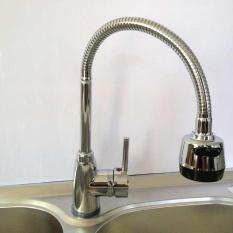 360 ° Rotating Kitchen Sink Basin Putar Mixer Dalam Waktu Yang Singkat dan Cerat Hot & Cold Faucet Terbaru-Intl