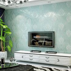360DSC 10 M Nonwoven Sederhana Gaya Eropa 3D Wallpaper Crochet Stiker Decal Wall Paper Roll-