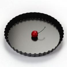 Review Toko 360Dsc 20Cm Non Stick Fruit Pie Pizza Dish Dessert Pastry Baking Mold With Removable Base Tray Black Intl