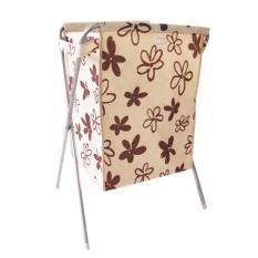 360DSC Lipat Kain Oxford Laundry Basket Cucian Bin Keranjang Pakaian Tas Penyimpanan dengan Penutup-Pola