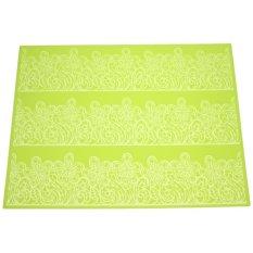 Harga 39X29Cm Lace Silicone Mat Fondant Cake Mold Diy Baking Decorating Tools Intl Terbaik