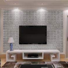 Toko 3D Pola Batu Bata Wallpaper Kamar Tidur Ruang Tamu Tv Warna Latar Belakang Dekorasi Dinding Modern Internasional Terlengkap
