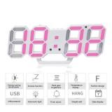Review 3D Digital Alarm Jam 3 Tingkat Kecerahan Yang Dapat Disesuaikan Led Jam Dinding Dengan Tanggal Dan Tampilan Suhu Di Tiongkok