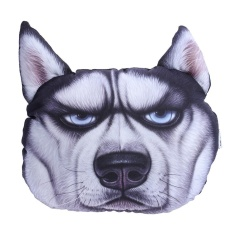 Review Terbaik 3D Dog Printing Sofa Cushion Neck Pillow Car Travel Headrest Birthday Gift Multicolor C Intl