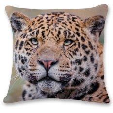 3D Harimau Singa Leopard Sofa Tempat Tidur Rumah Dekorasi Festival Bantal Kursi Sarung Bantal Kasus-Internasional