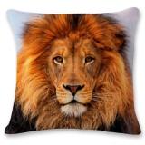 Ulasan Mengenai 3D Tiger Lion Leopard Sofa Bed Home Decoration Festival Pillow Case Cushion Cover Intl