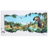 3D View Dinosaurus Stiker Dinding Kamar Anak Hiasan Stiker Dinding Mural Jurasik Park 3 Internasional Terbaru