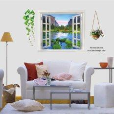 Promo Mimosifolia 3D Wallpaper Stiker Dinding Hijau Jendela Pvc Seni Dekorasi Rumah Lukisan Kertas Dinding Untuk Orang Dewasa Anak Anak Di Hong Kong Sar Tiongkok