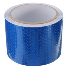 3 M Konspirasi Peringatan Keselamatan Reflektif Stiker Film Strip Self Adhesive Tape Biru