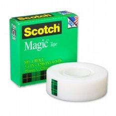 Spesifikasi 3M Scotch Magic Tape 810 1 X 36Y Isolasi Lakban Bening 1 Roll Hijau Murah Berkualitas