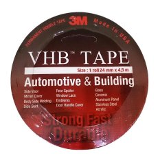 Toko Jual 3M Vhb Double Tape Automotive 4900 Tebal 1 1 Mm Size 24Mm X 4 5M 1 Pcs Merah