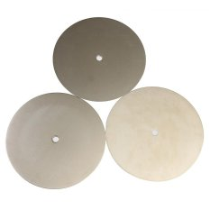 Harga 3 Pcs 8 Inch Grit 600 1200 2000 Diamond Dilapisi Flat Lap Roda Lapping Polishing Disc Intl Origin