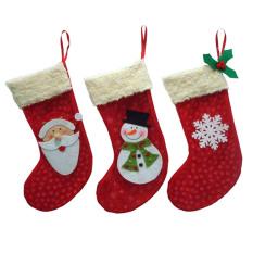 Toko 3 Buah Kaus Kaki Natal Kaus Kaki Santa Klaus Dekorasi Pohon Natal Tas Hadiah Permen Lengkap Di Hong Kong Sar Tiongkok