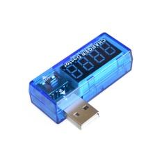 Review 3 Pcs Digital Usb Mobile Power Charging Current Voltage Tester Meter Mini Usb Charger Dokter Voltmeter Ammeter Intl