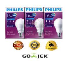 Jual 3Pcs Lampu Bohlam Led Philips 14 5Watt W 16W Watt 200Watt Putih Philips Ori