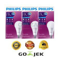 Jual 3Pcs Lampu Bohlam Led Philips 19W Watt 160Watt Putih Online Indonesia