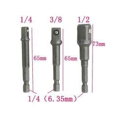 Jual 3 Pcs Silver Wrench Lengan Ekstensi Bar Dengan Bola Baja Hex Shank Drive Power Bor Soket Driver Adaptor Set Hw198 Intl Murah
