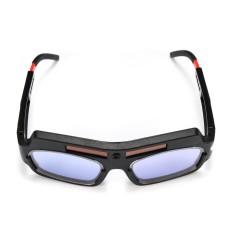 3 Pcs Tenaga Surya Bertenaga Otomatis Penggelapan Welding Masker Helm Mata Goggle Welder Kacamata Busur Hitam