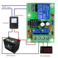 Toko 3 Pcs Xh M601 Pengisian Control Board 12 V Cerdas Charger Panel Kontrol Daya Pengisian Otomatis Power Intl Online Di Tiongkok