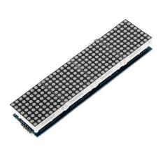 Ulasan Mengenai 4 In 1 Dot Matrix Mcu Tampilan Led Modul Diy Set Untuk Arduino 5 Pc Koneksi Kabel Merah