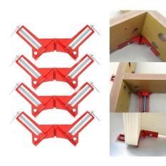4 Pcs 90 Derajat Sudut Kanan Sudut Clamp Mitre Vise Vice Picture Frame Klem Pemegang Woodworking