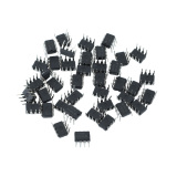 Jual Beli 40 Pcs Plastik Logam Ne555P 555 Dip 8 Ic Timer Kit Listrik 9 5 7Mm Baru Indonesia