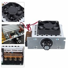 4000W AC SCR Voltage Regulator Dimmers Electric Motor Speed Controller 220V FAN - intl