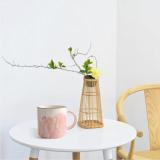 Harga 400Ml Novelty Couple Lovers Marbling Ceramic Cup Coffee Tea Milk Water Beverage Mug For Your Lover Husband Wife Boyfriend Girlfriend Mrs Pink Intl Oem Asli