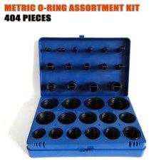 404 PCS/kit O Ring Seal Kit Gasket Yang Seperangkat Cincin Karet Grommet Cincin Penyegel With Kotak Plastik Kit O-ring HW273-Intl