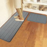 Jual 40 Cm X 120 Cm Busa Memori Dicuci Lantai Kamar Tidur Pad Non Slip Mandi Tikar Karpet Pintu Dalam Abu Abu Ori