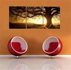 Review Terbaik 40X50 Cm 3 Panel Modern Cetak Foto Sunset Cuadros Lukisan Pohon Lukisan Kanvas Dekorasi Rumah Internasional
